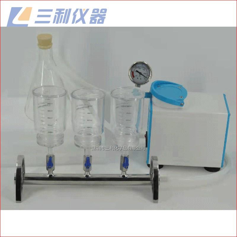 三联塑料滤杯